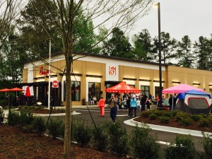 First 100 Event at Peachtree City Line Creek Grand Opening
